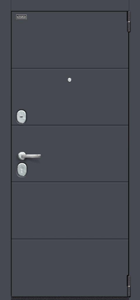 Porta S 4.Л22 Graphite Pro/Nordic Oak в интернет-магазине primadoors.by