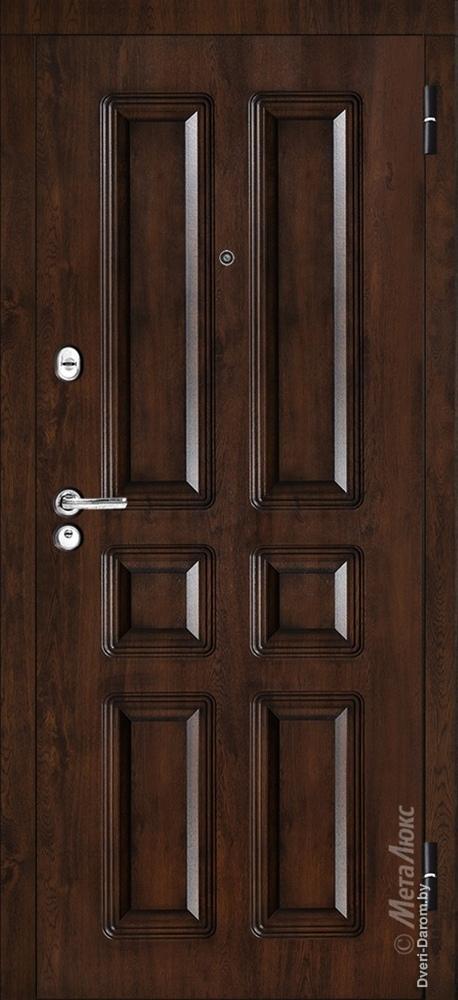 Входная дверь для квартиры М381/1 Металюкс в интернет-магазине primadoors.by