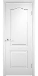 Межкомнатная дверь КЛАССИКА ДГ белая в интернет-магазине primadoors.by